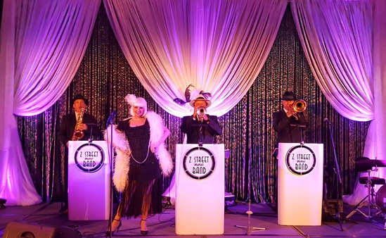 Corporate theme Parties, corporate Gatsby theme Event, Orlando convention Gatsby Theme Party