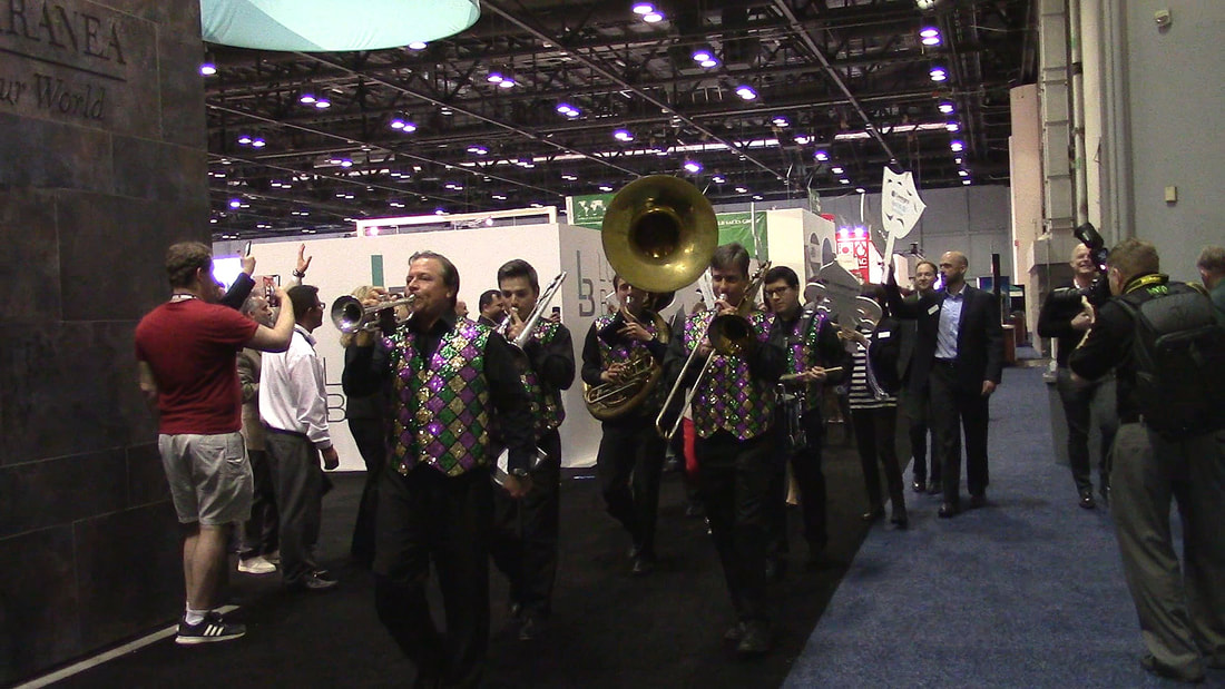 Corporate Brass Band, Corporate Marching Band, Convention band, Corporate Entertainment, Corporate Band, Orlando, Tampa, Sarasota, Saint Petersburg, St. Augustine, Miami, Fort Lauderdale, Boca Ratona, Jacksonville, Marco Island, Florida, South Carolina, North Carolina