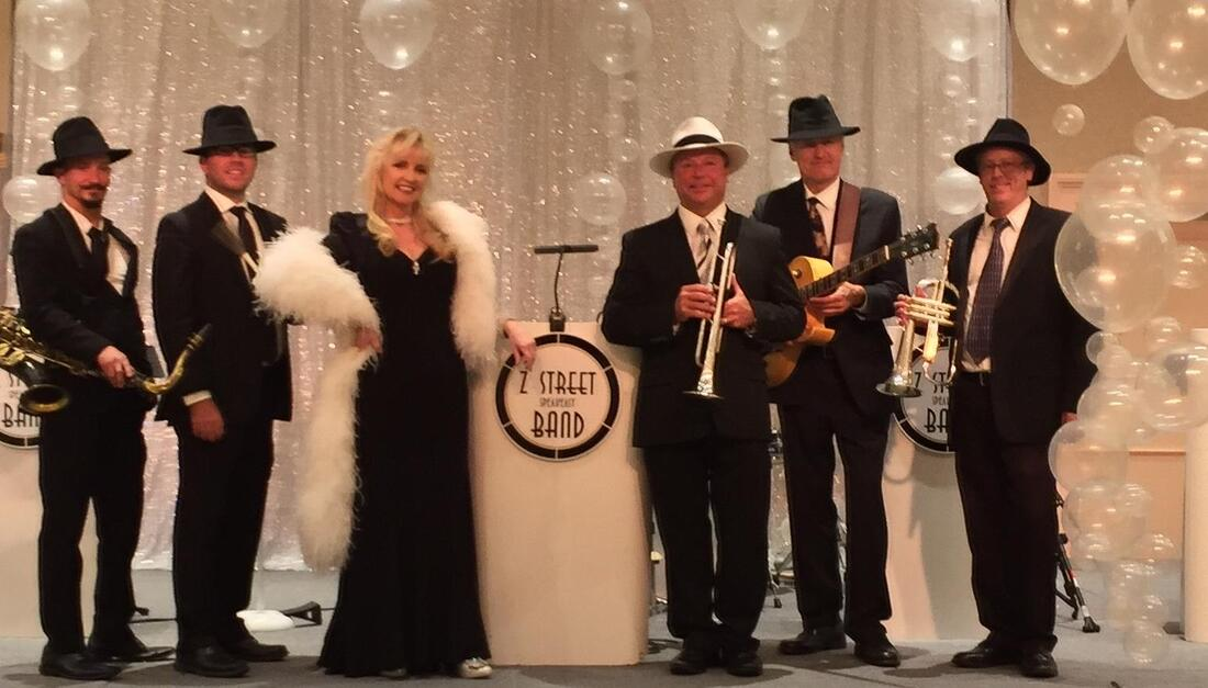 Convention band, Corporate Gatsby Entertainment, Corporate 1920s Entertainment,  Corporate Entertainment, Corporate Band, Orlando, Tampa, Sarasota, Saint Petersburg, St. Augustine, Miami, Fort Lauderdale, Boca Raton, Jacksonville, Marco Island, Florida, South Carolina, North Carolina