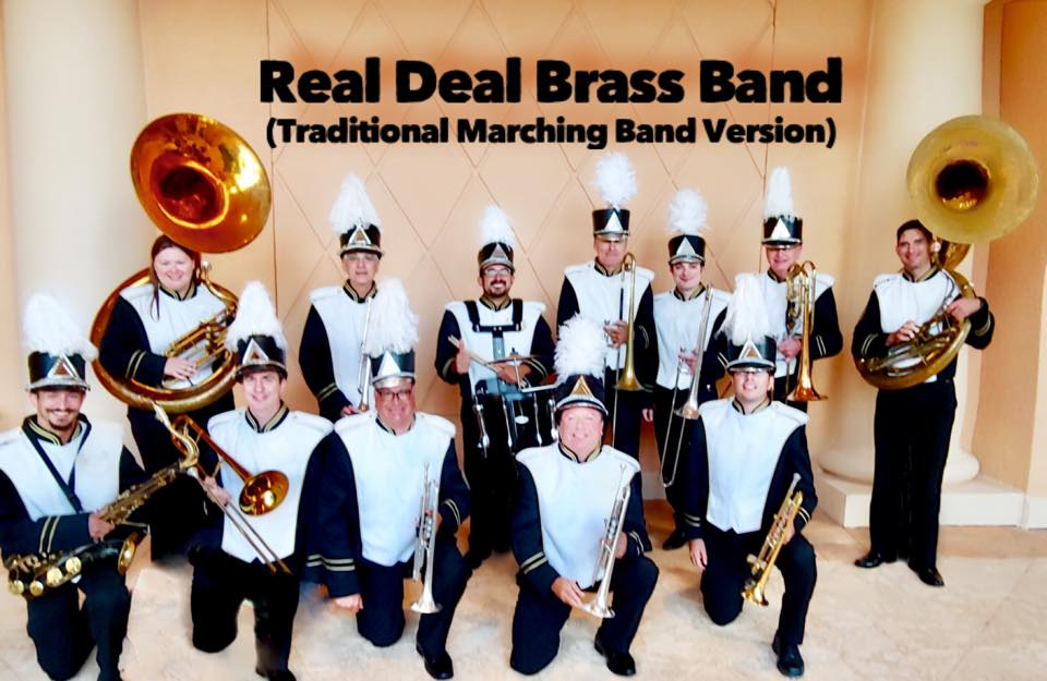 Convention band, Corporate Entertainment, Corporate Brass Band, Corporate Marching Band, Corporate Band, Orlando, Tampa, Sarasota, Saint Petersburg, at. Augustine, Miami, Fort Lauderdale, Boca Raton, Jacksonville, Marco Island, Florida, South Carolina, North Carolina